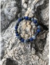 Bransoletka męska Kulka Bracelona blue