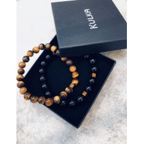 Success and courage - set of 2 bracelets KULKA MAN