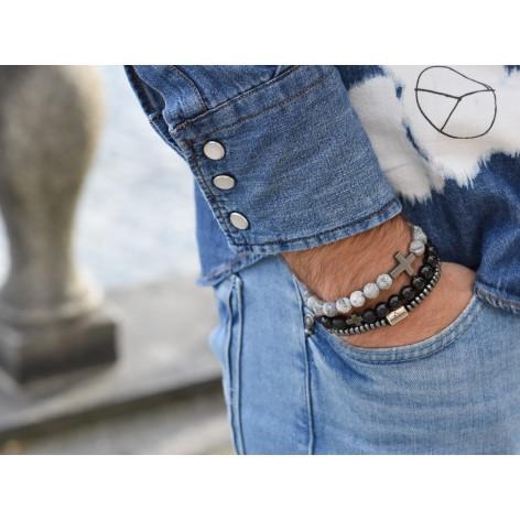 Balance and success - set of 3 bracelets - KULKA MAN Stockholm