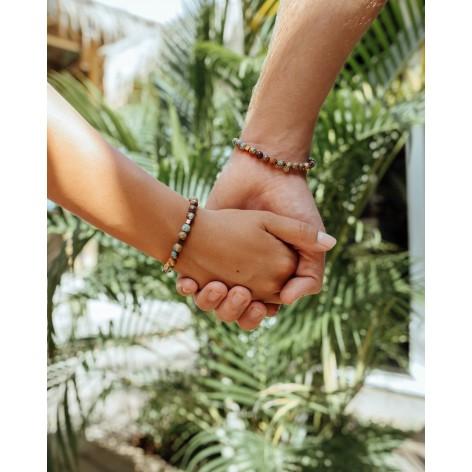 Together - bransoletki dla par z kamieni naturalnych