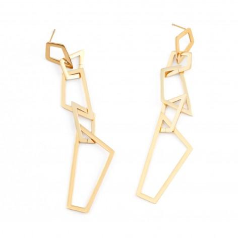 Crystals - stud earrings...