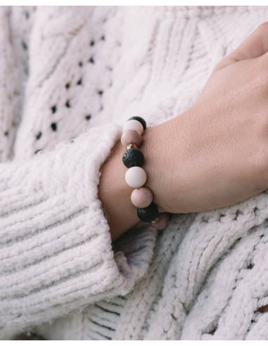 Light pink – bransoletka z kamieni...