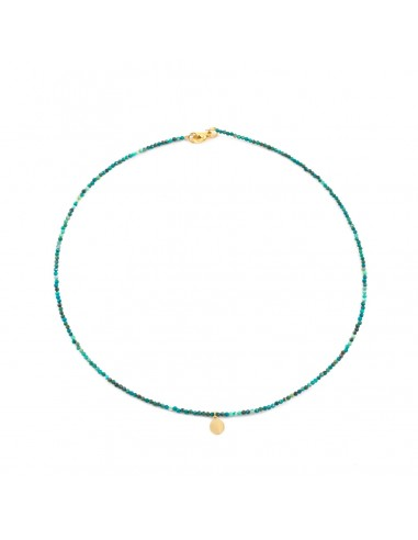 African turquoise - necklace made of...