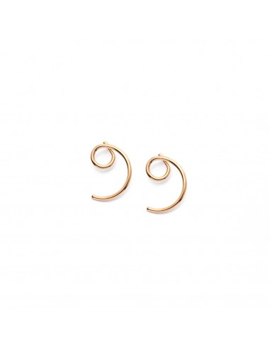 Spirals - stud earrings made of...