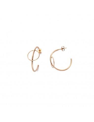 Delicate semicircles - earrings made...