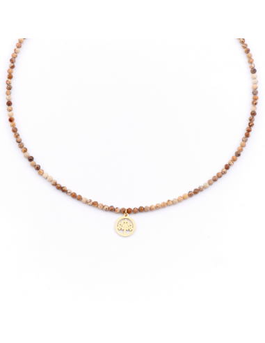 Health - necklace made of natural stones