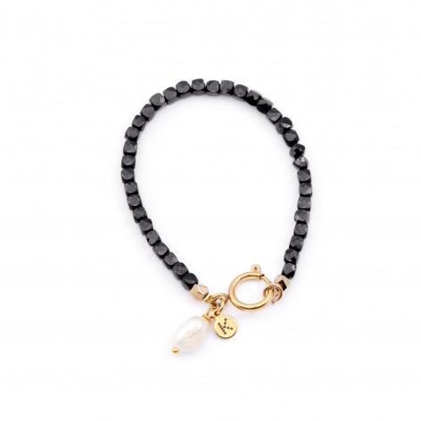 Bracelet made of black...