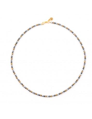 Impressive hematite - a necklace made...