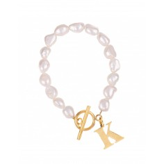 Pearl bracelet with a...