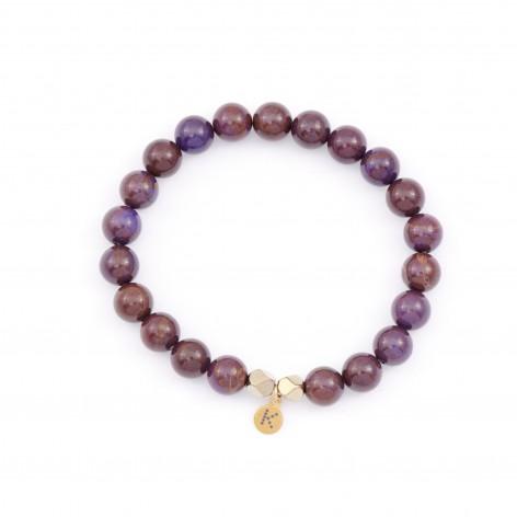 """Winter plum"" - bracelet..."