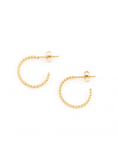 Small semicircle with beads -...
