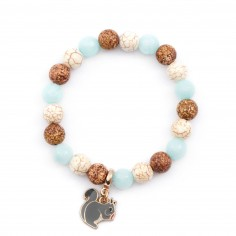 Squirrel - bracelet made of...