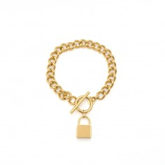 Chain bracelet with a...