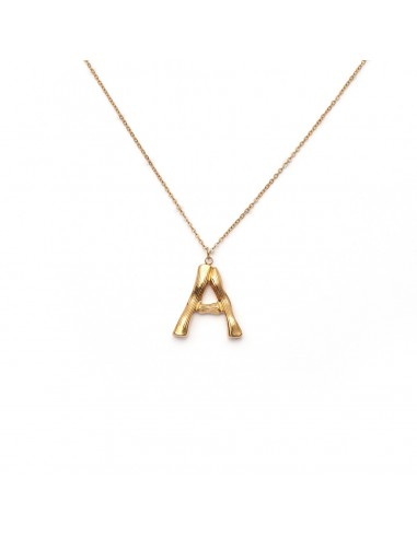 """Gold-plated necklace """"Letters"""" -..."""