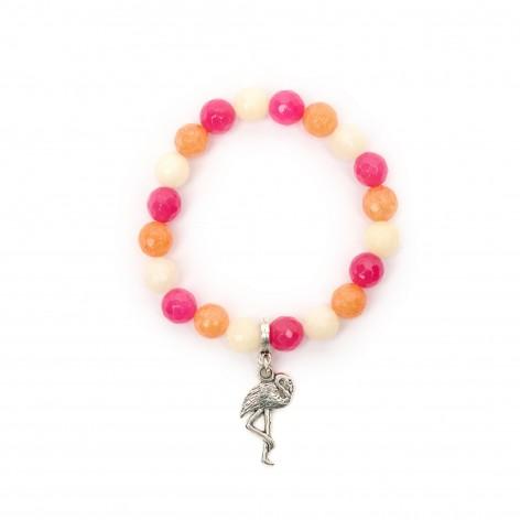 Flamingo - bracelet made of...