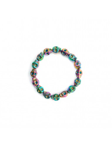Multicolored skulls - bracelet made...