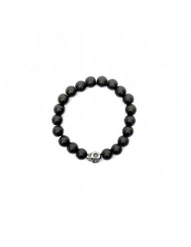 Skull - bracelet made of natural...