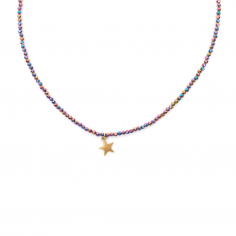 Glitter - necklace made of...