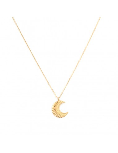 """Gold-plated necklace """"Moon"""""""