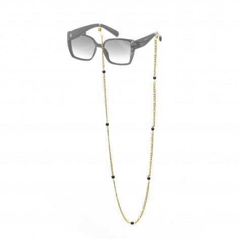 Łańcuszek do okularów - Onyks