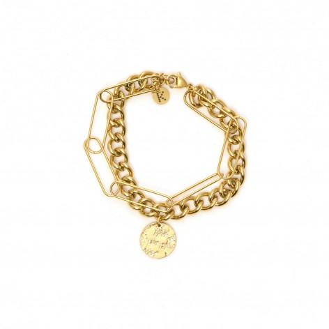 "Chain bracelet with ""Full..."