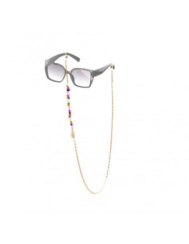Łańcuszek do okularów - Perły z muszlami
