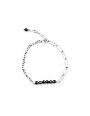 copy of Chain bracelet with black...