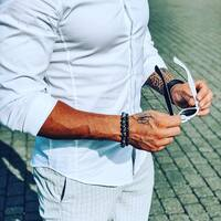 Business look by KulkaMan 🔥 A czy Twój mężczyzna nosi biżuterię? Zobacz jak pięknie i męsko się prezentują nasze bransoletki 😎