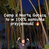 Dziś, moja Lenka bierze udział w konkursie na NAJLEPSZE ZDJĘCIE ze wspaniałego campa z całą HOT EKIPĄ @marta_goraca 🔥🔥 Prosimy o ❤️😉🙏#fitcampgorącej #teamgoracej